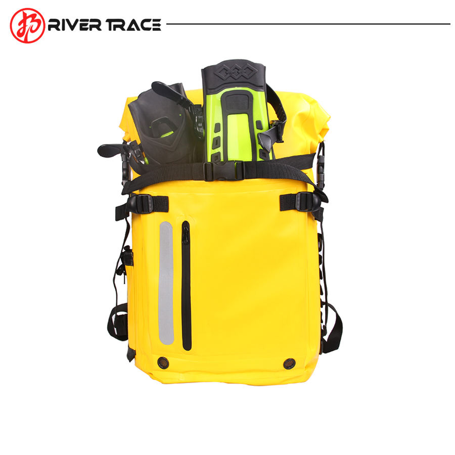 Retail Large Capacity Waterproof Ski Flippers Fin Backpack Bag For Outdoor Sports Swimming