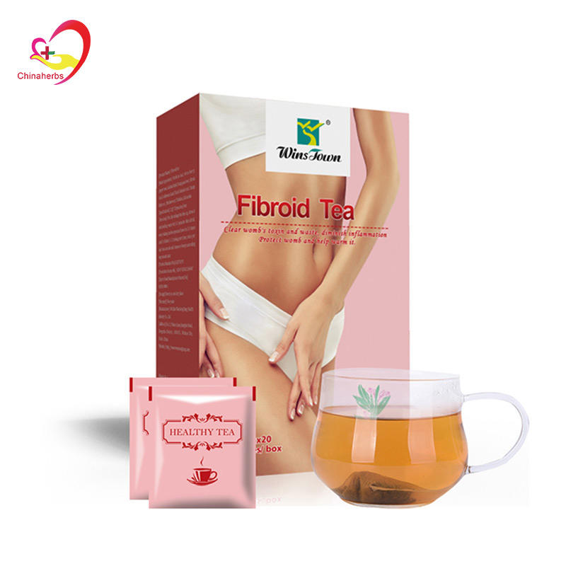 chinese fibroid herbal tea Clear womb's toxin and waste diminish inflammation Uterus Fibroid Tea Fibroid Treatment