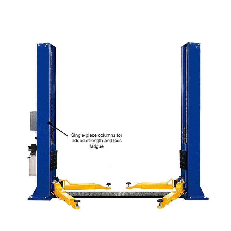 2 Post car lifts for home garage used 2 post base plate car lift for sale