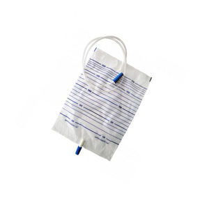 high quality disposable economic adult urine collection bag 2000 ml with different valves