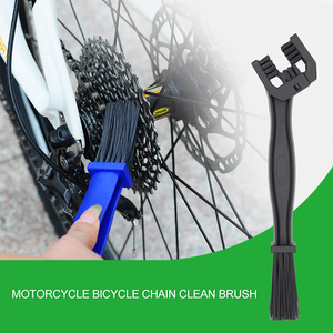 3 Sides Bicycle Accessories Cleaning Chain Cleaner Brush Rake Remover Clean Brush for motorcycle bike