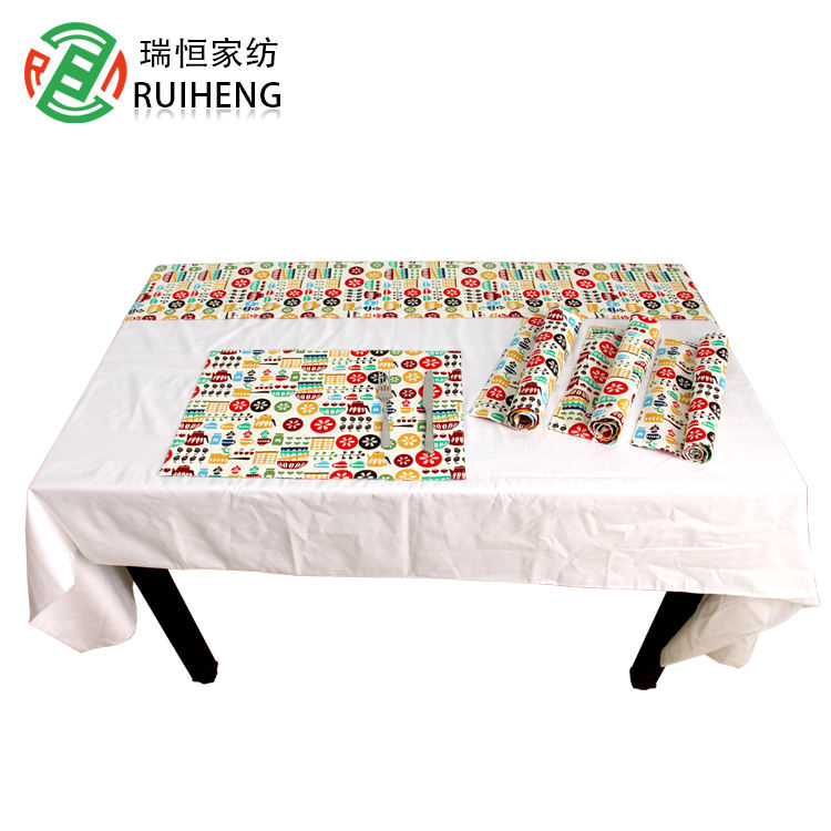Wholesale Cotton Cloth Table Mate Napkin Dinner Plate Pad