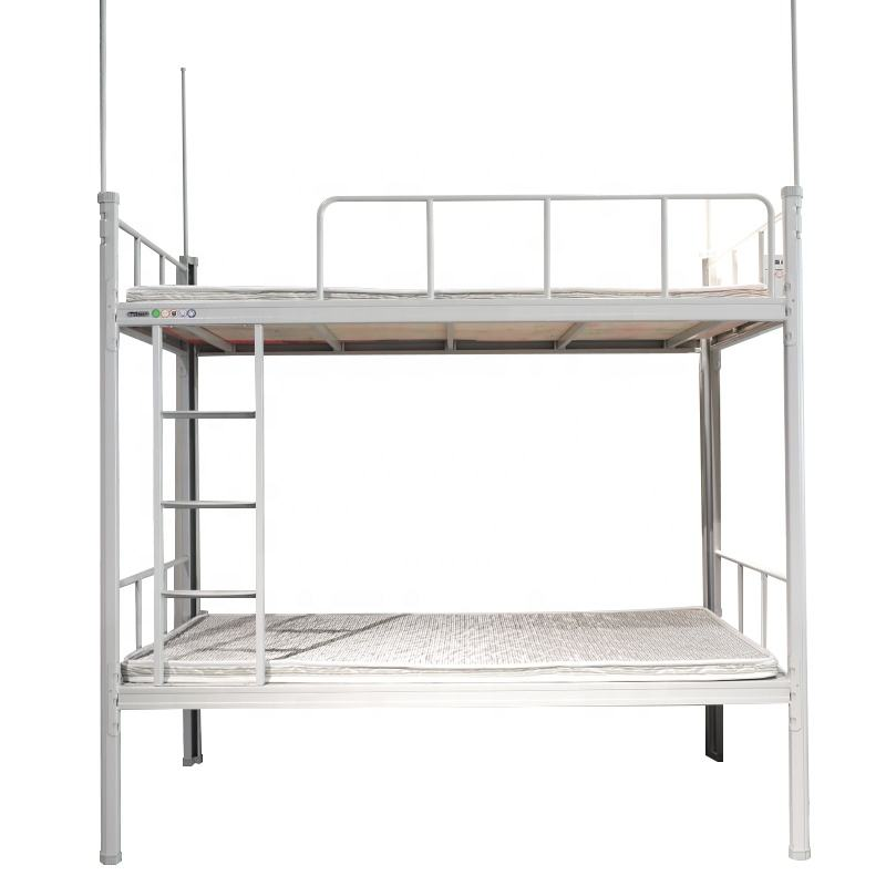 High Quality School Furniture Student Steel Double Bunk Bed