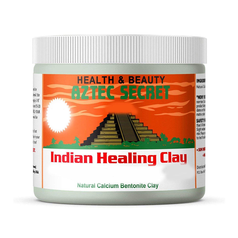 Bentonite Indian Healing Clay Mask for Deep Pore Cleaning