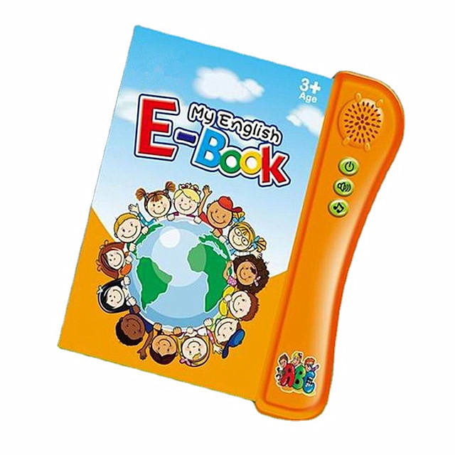 English Learning Touch Reading Sound Book Kids E book