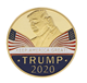 N1092 Custom 2020 USA President Souvenir Coin Election Trump Challenge Commemorative Coins Gold Silver Plated Donald Trump Coin
