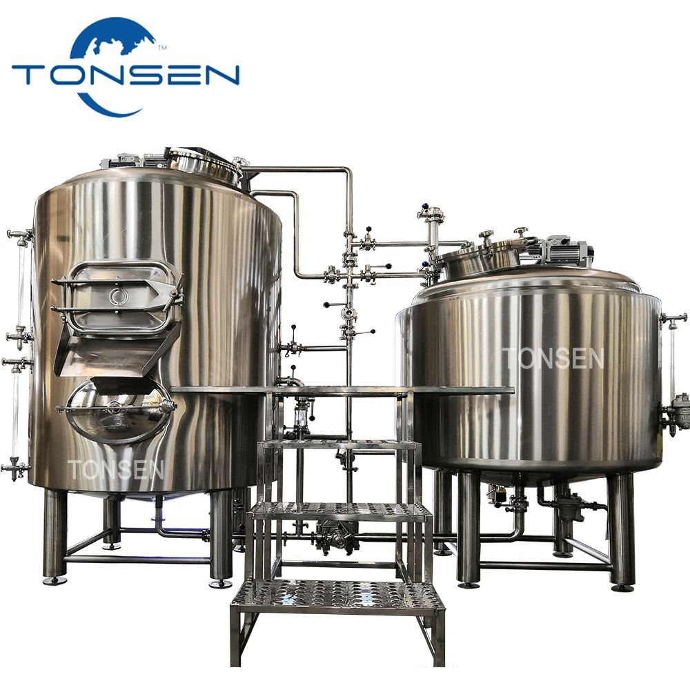 Tonsen 300 litre microbrewery equipment 500L pilot brewery for sale