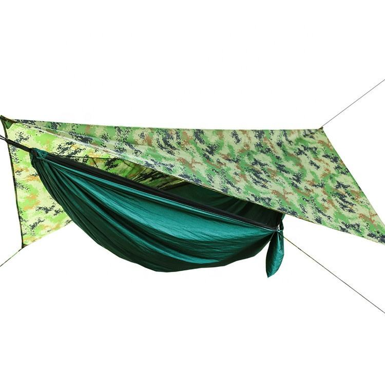 Tragbare Parachute Stoff Moskito Net Handliche <span class=keywords><strong>Camping</strong></span> <span class=keywords><strong>Hängematte</strong></span> mit Sonnenschirm
