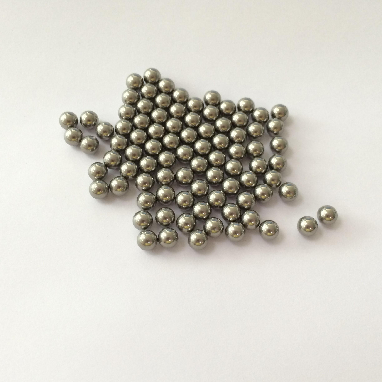 """50 PCS 304 Stainless Steel Loose Bearing Balls G100 Bearings 5.556mm 7//32/"""""""