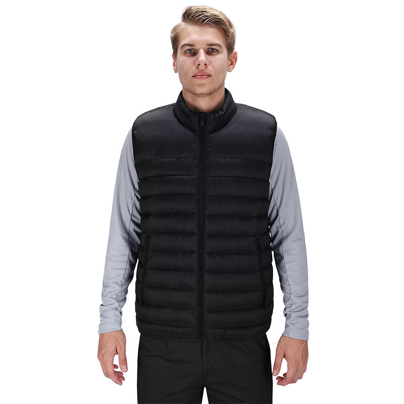 Custom wholesale winter waistcoats packable gilets men's casual vests outerwear vests outdoor