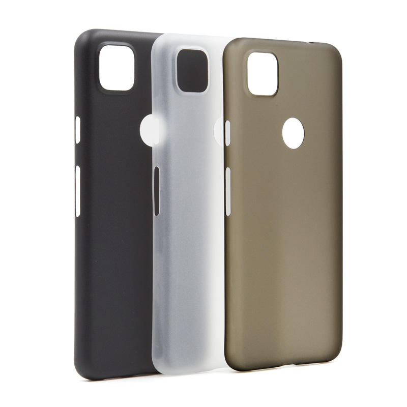 Factory price soft anti-finger print 0.35mm ultra slim phone cover for Google Pixel 4A PP thin case with camera lens protection