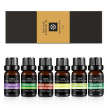 Private label 100% pure aroma  essential oil set--high quality natural essential oil-6 pack