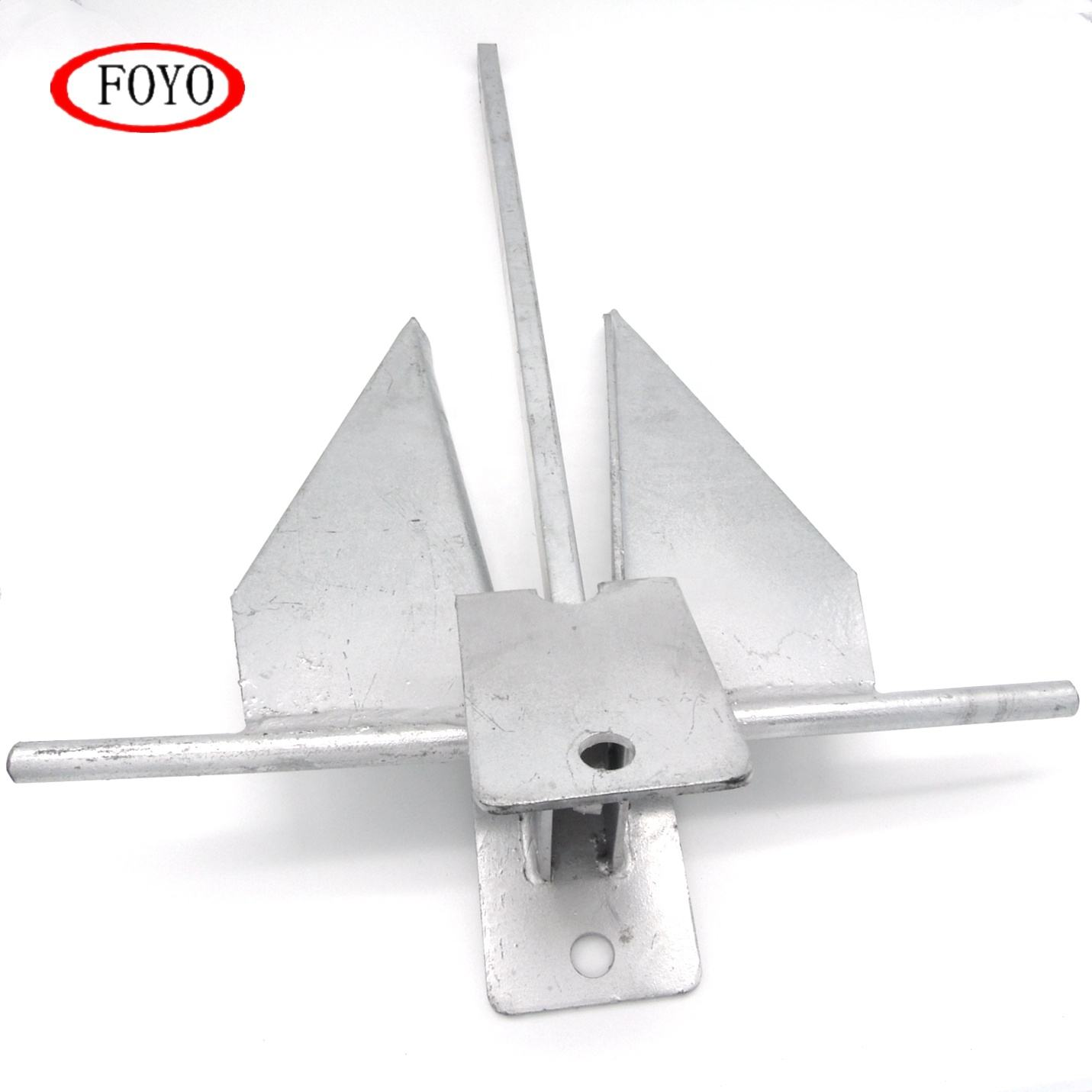 Foyo Brand Hot Sale Boat Accessories Marine Galvanize Danforth Fluke Anchor for Ship and Yacht and Kayak