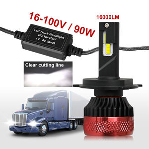 Cooling Fan CANbus Auto Vehicle Mini H4 H1 H3 H7 9005 9006 Truck Led Head light Bulbs R11 16000LM H7 Led headlight for Auto Car