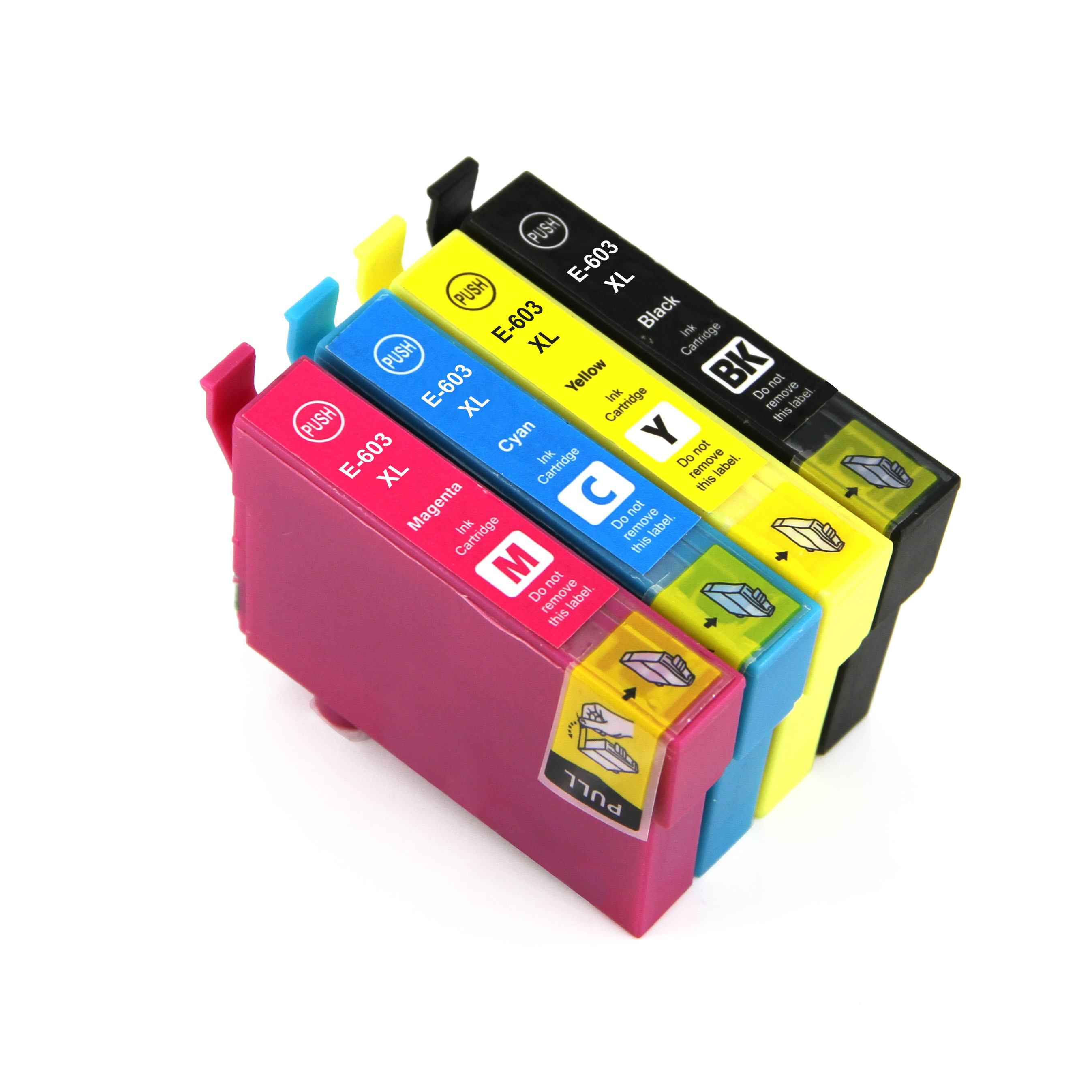603XL compatible black ink tank ink cartridge with chip inkjet printers use in XP-2100 XP-2105 XP-3100 XP-3105 XP-4100