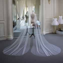 New double shoulder veil the wings Bridal Cathedral Wedding Veils and Accessories