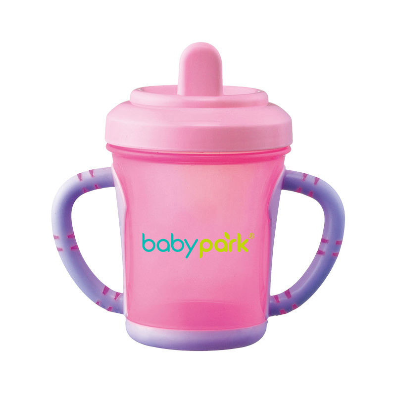 BPA free PP baby kids Non-spill training duckbill drinking sippy cup