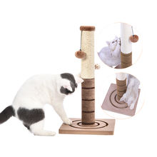 Tianyuan Pet Fun Natural Non-Toxic Cat board Stick Cat Scratcher Tree Sisal Cat Scratch Post Tree