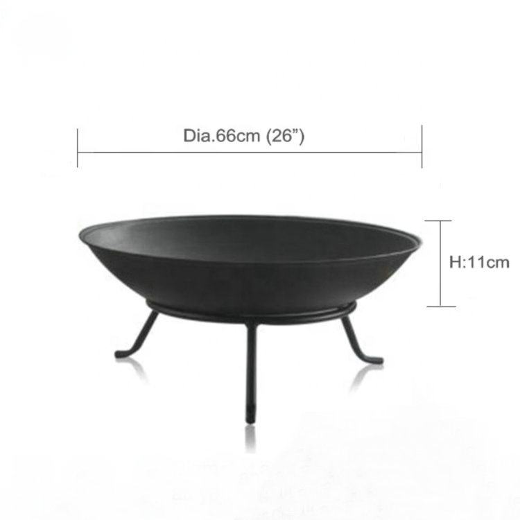 China factory supply fire pit bowl cast iron fire bowl Out door