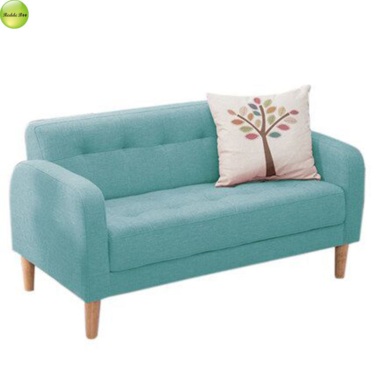 Small cheap sofa for family double budget mini bedroom direct from china furniture