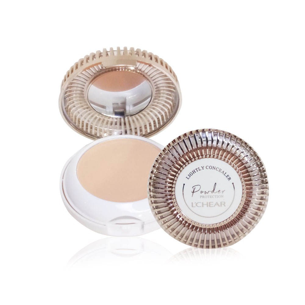 LCHEAR Double layers Compact Powder Shiny+matte DQ2137