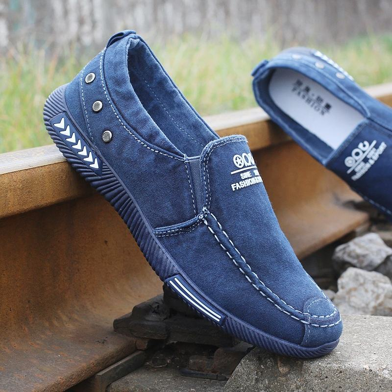 Summer Men Fashion Canvas Casual Shoes SHOPCEO