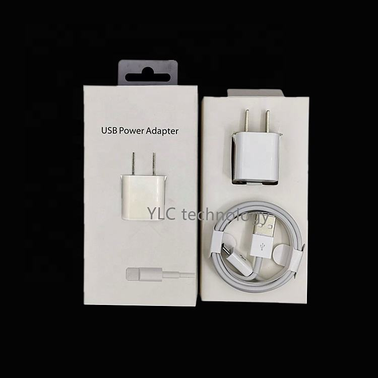 Factory production Charger A1385 MD818 for 5W power adapter for iPhone
