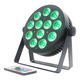RGBAW+UV+ IR operated Party stage lighting par Wireless DMX IR 12x18w led par