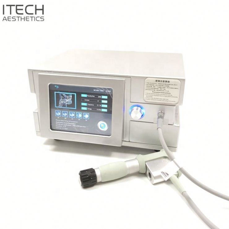 2019 Promotional Price Pain Treatment Acoustic Portable Shockwave Therapy Machine With ED Function