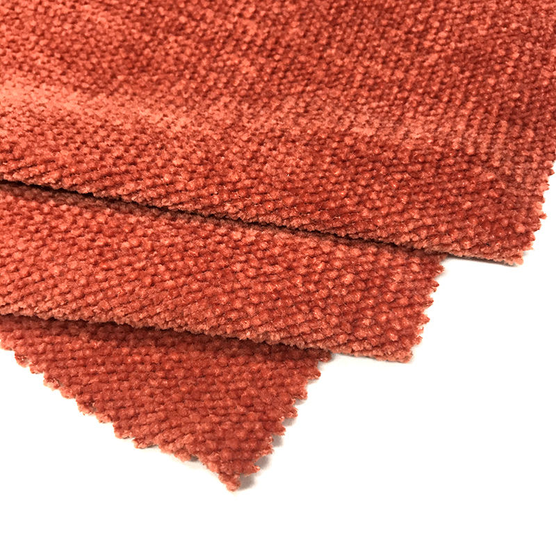 Shaoxing Textiles Factory Chenille 100% Polyester Microfiber Hacci Knit Fabric For Clothes
