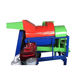 12HP diesel engine high efficiency mini rice and wheat thresher price