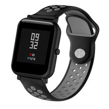 OULUCCI 20mm Silicone Strap Bracelet For Huami Amazfit Bip Strap Watch Band For Garmin Forerunner 645 Vivoactive 3/galaxy 42mm