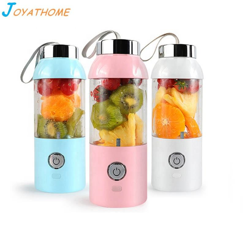 Creative Portable Electric Mini Juicer Cup USB Rechargeable Plastic Fruit Blender Juice Extractor Food Processor Mixer