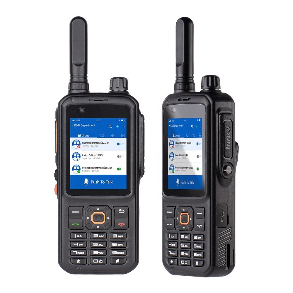 Inrico T298S english bf picture wcdma walkie talkie
