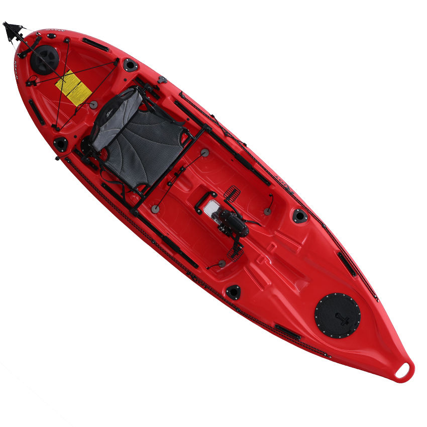 Riot / Bateau pedal sea kayak single canoe fishing with capacity 200kg