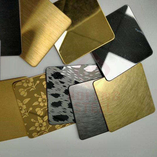 Flat Plate [ 430 Stainless Steel ] 304 Stainless Sheet ASTM 201 304 316 430 Gold Mirror Stainless Steel Sheet Price