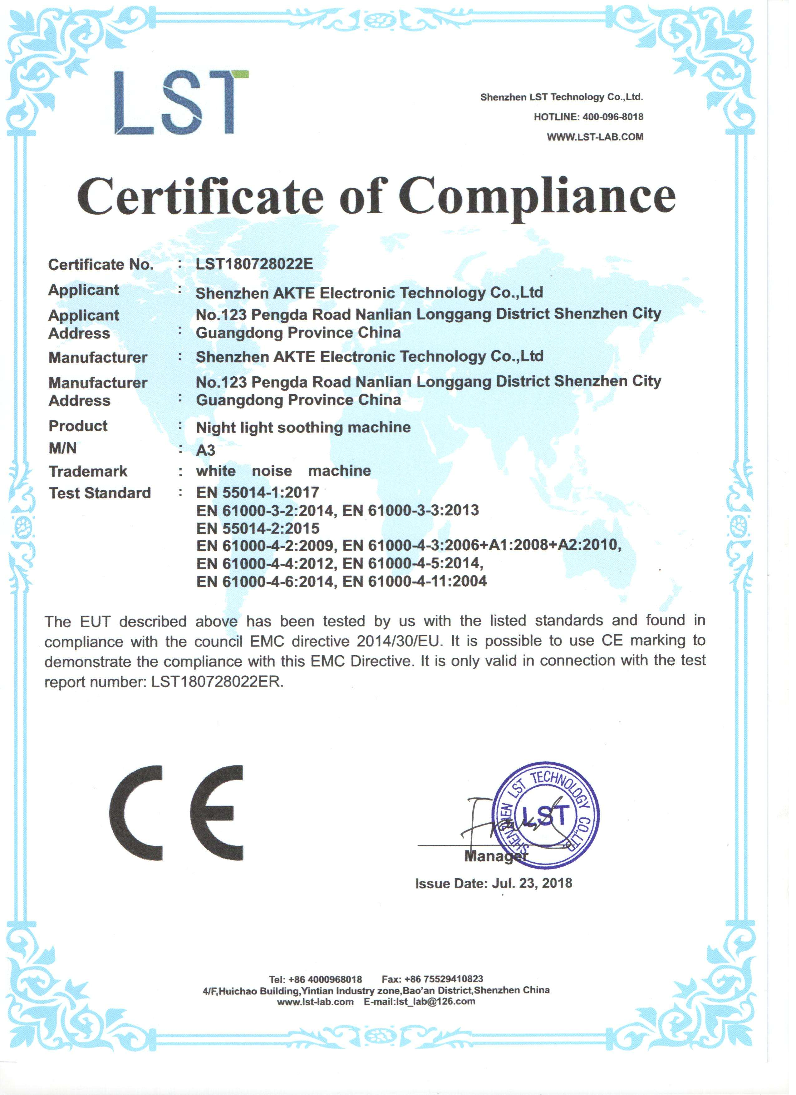 Company Overview Shenzhen Akte Electronic Technology Co