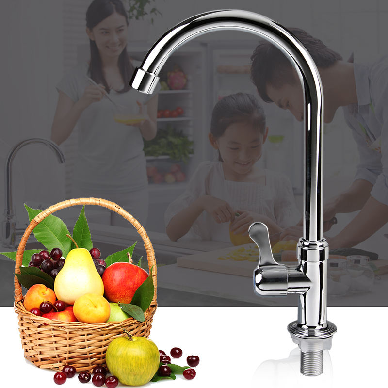 Factory good quality abs new material basin faucet /swan neck taps