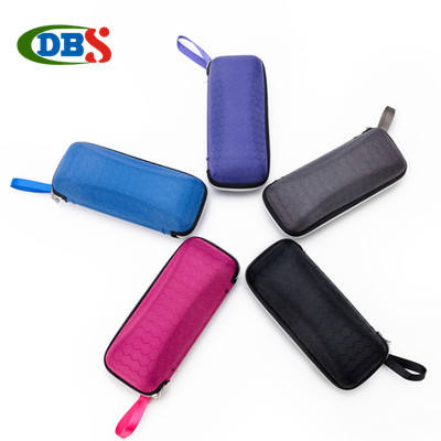 wholesale ECO square sunglasses case hard case with zipper