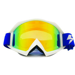 Custom Stylish Motorcycle Motocross Goggles with Tear Off Posts