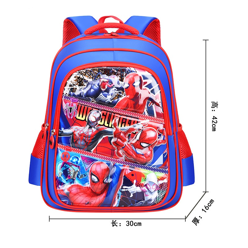 Boys Girls Children Primary Students Waterproof Schoolbag Book Bag