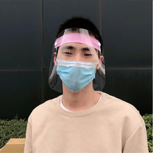 Protect Your Face Eye Mouth Anti Fog Epidemic Prevention Public Protective Mask Reusable Eco Clear PET Full Cover Face Shield