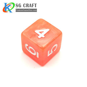 2020 Chinese Manufacturer Eco-friendly Brand Customize Rounded Resin D&D Plastic Dice Customized Acrylic Plastic Game Set Dices