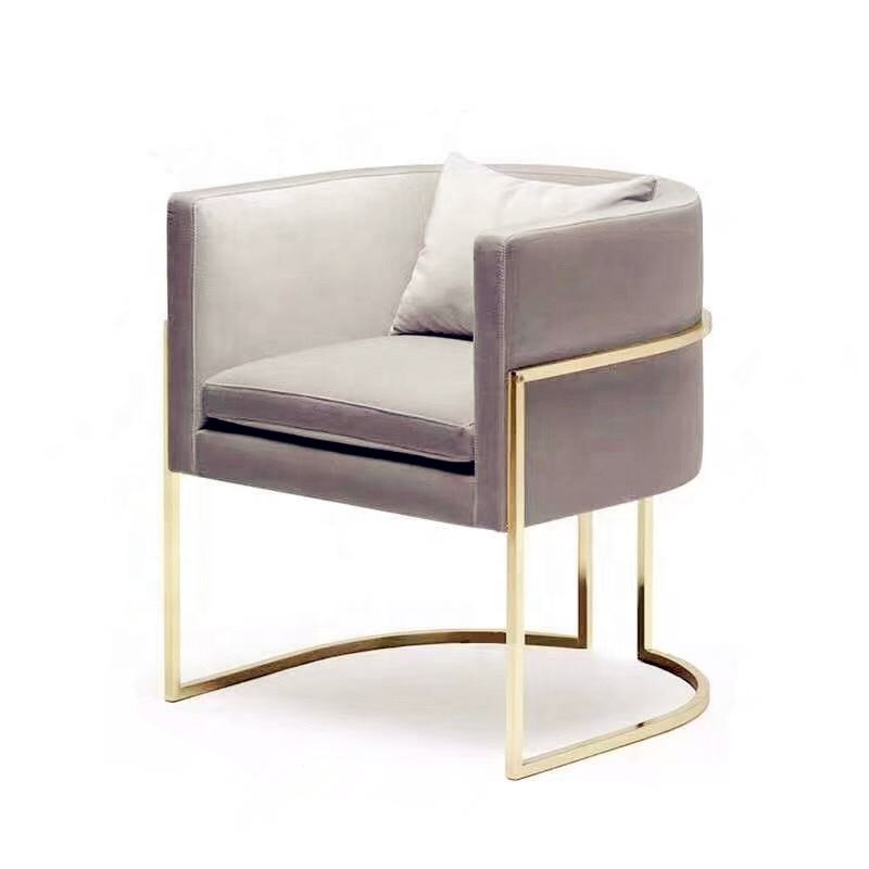 high-quality Stainless steel gold plated sofa base chair base