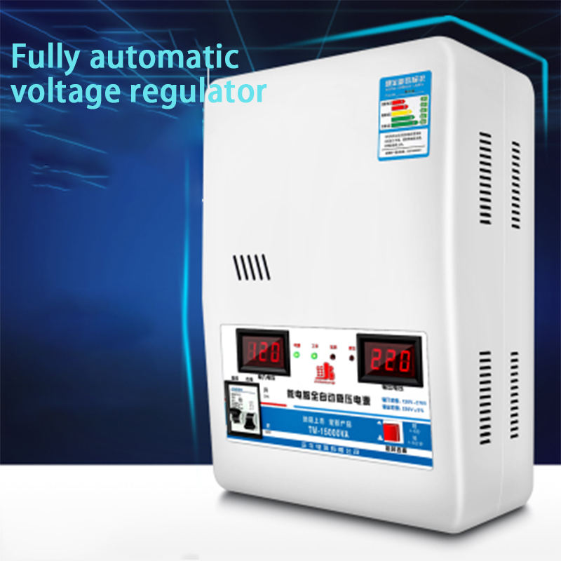 15000W 220 V/Regulator Rumah Tinggi Daya Otomatis Diatur Power Voltage Regulator