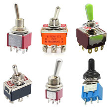 Toggle switch on off toggle switches on off on 3PDT toggle switch with waterproof cap
