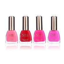 Factory OEM  Sugar Nude Nail Polish  Customized 15ml   High Pigment  Nail Polish  Water Based For Nail Manicure