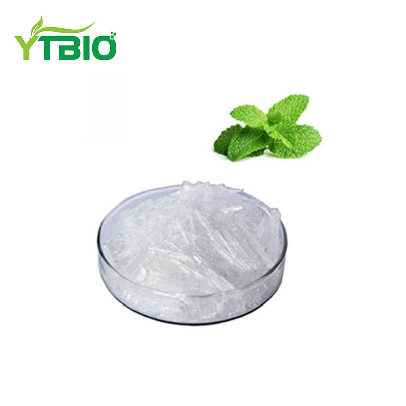 Yuantai Peppermint Extract Menthol Crystal Powder