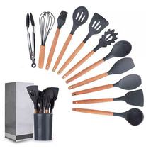 nonstick cookware sets Spatula Silicone Kitchenware Set nonstick cooking utensils