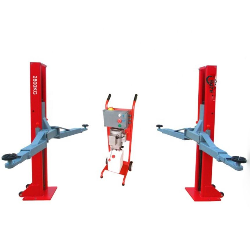 factory used hydraulic cylinder for two post movable car lift